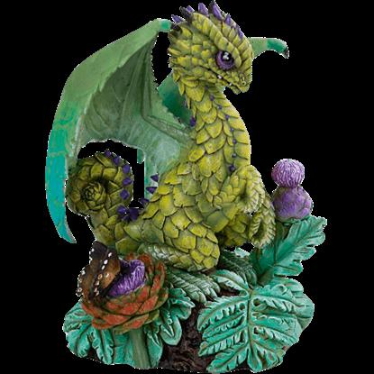 Artichoke Dragon Statue
