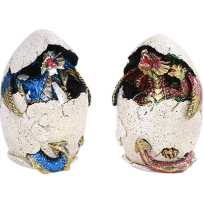 Blue and Pink Dragon Eggs Set
