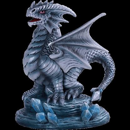 Baby Rock Dragon Statue