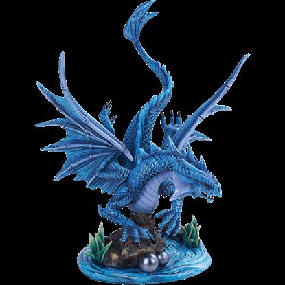 River Water Dragon Statue