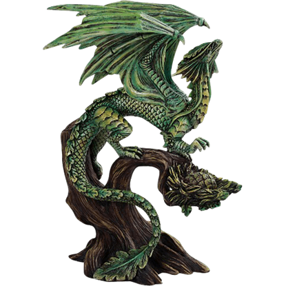 Forest Dragon Statue