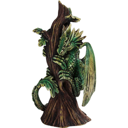 Baby Forest Dragon Statue
