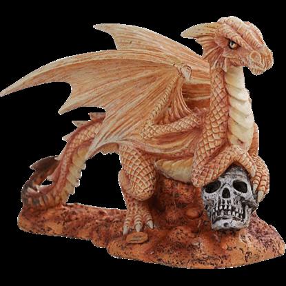 Baby Desert Dragon Statue