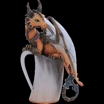 Mead Dragon Statue
