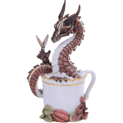Hot Chocolate Dragon Statue