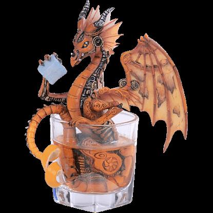 Old Fashioned Dragon Statue