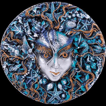 Mari Sea Goddess Plaque