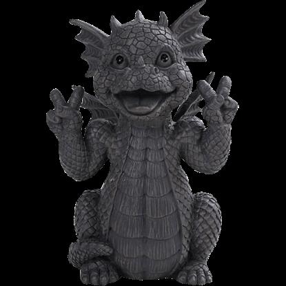 Peace Garden Dragon Statue