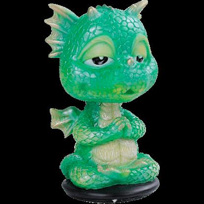 Meditating Dragon Bobblehead