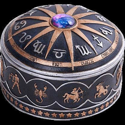 Full Zodiac Trinket Box