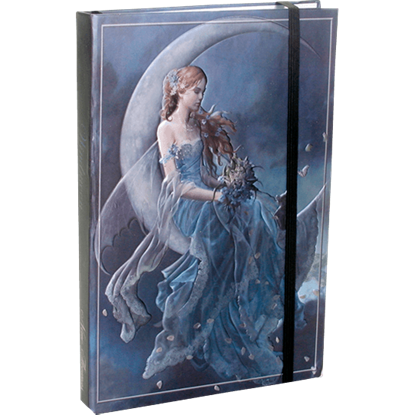 Embossed Wind Moon Fairy Journal