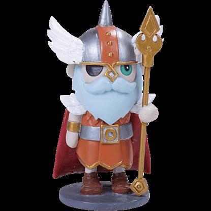 Odin Mini Norse Statue