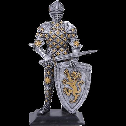 Knight of Lyon Statue