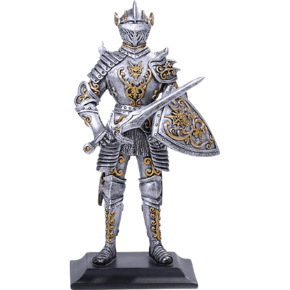 Knight of the Dragon Order Statue