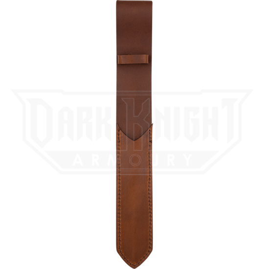 LARP Wand Leather Sheath