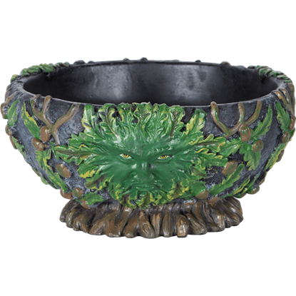 Greenman Scrying Bowl