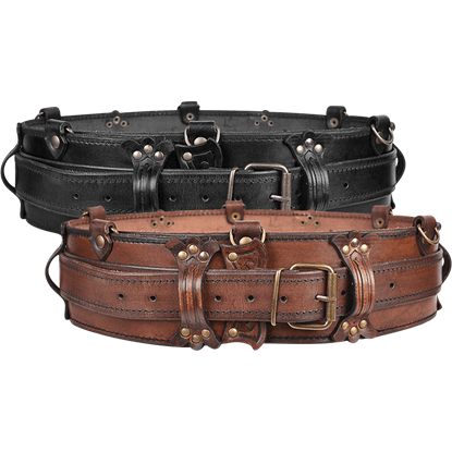 Luthor Leather Belt