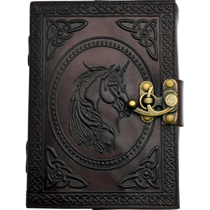Unicorn Leather Embossed Journal