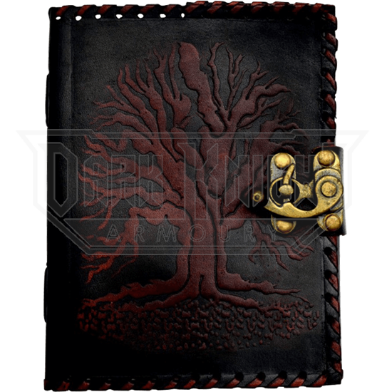 Black and Brown Tree of Life Journal