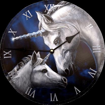 Sacred Love Unicorn Clock