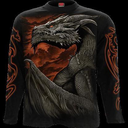 Majestic Draco Long Sleeve T-Shirt