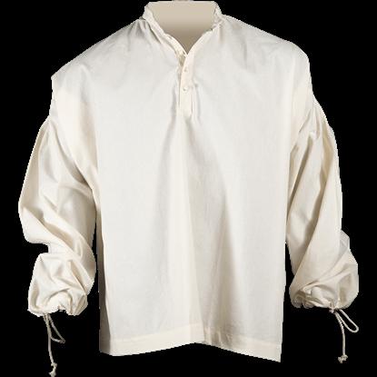 Collared Pirate Shirt - Ecru
