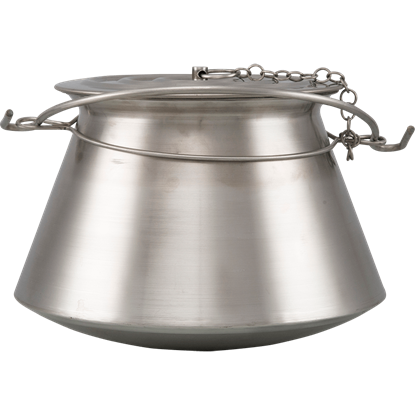 Medieval Cooking Pot - Stainless Steel