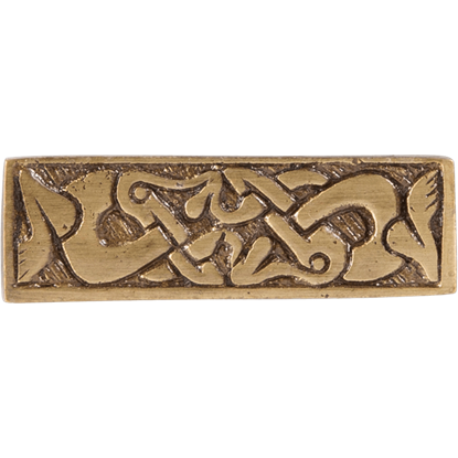 Brass Viking Belt Decoration