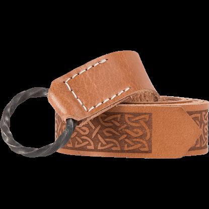 Ring Belt with Celtic Design