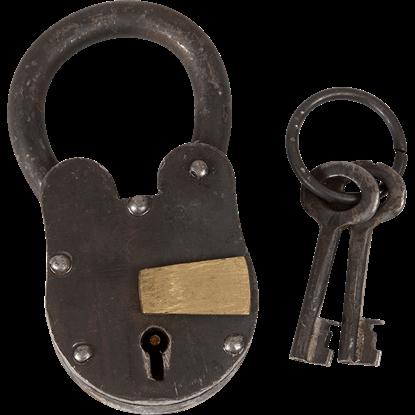 Medieval Lock with Keys