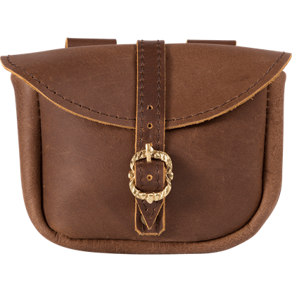 Small Merchant Pouch - Brown