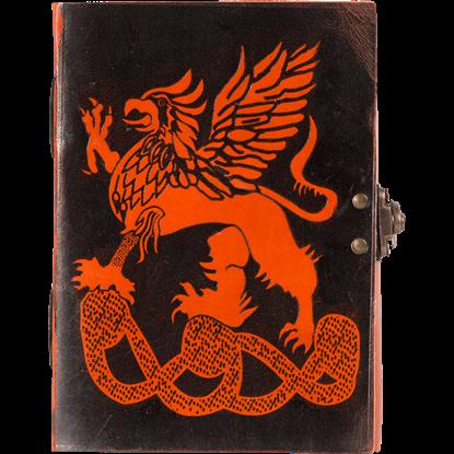 Leather Griffon Journal