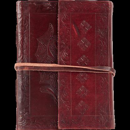 Embossed Dual Dragon Journal