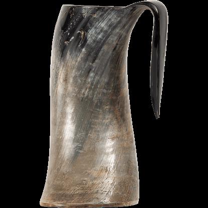 Large Gustav Horn Tankard