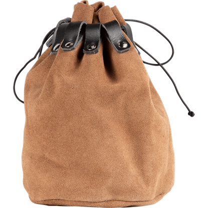 Large Drawstring Medieval Pouch