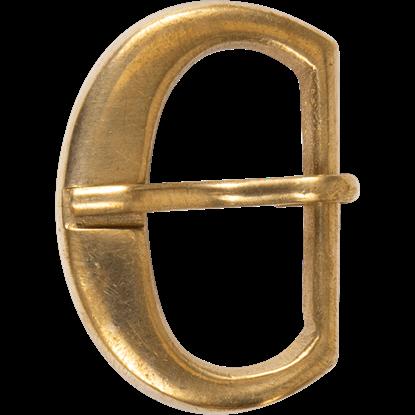 Simple Brass Belt Buckle