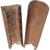Squire Leather Greaves