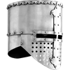 Flat Top Crusader Helm