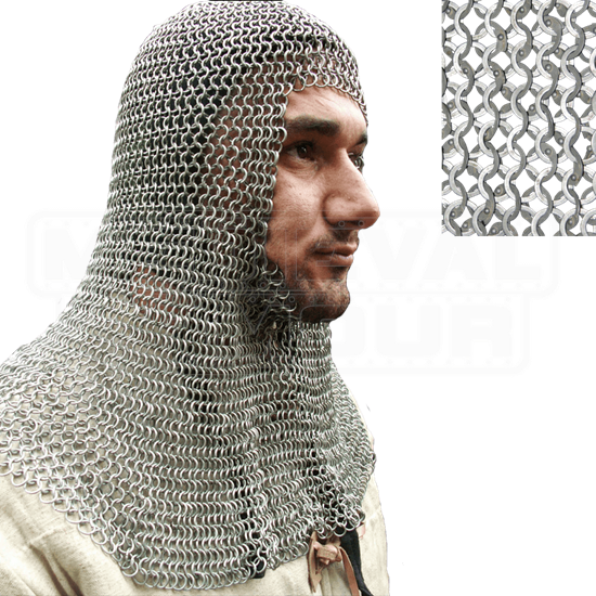 Full Mantle Chainmail Coif