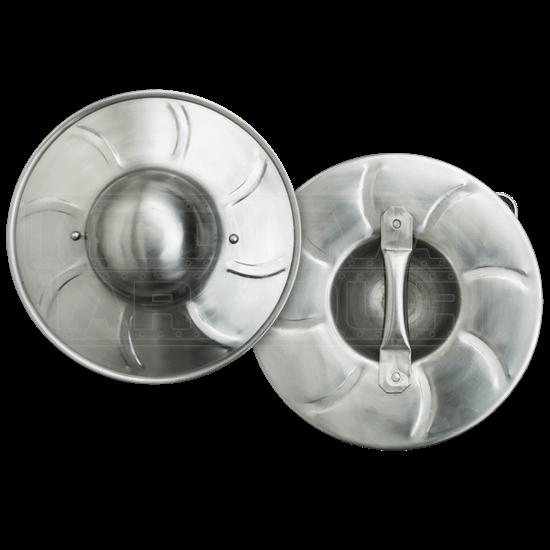 Spiral Fluted Buckler - 14 Inch