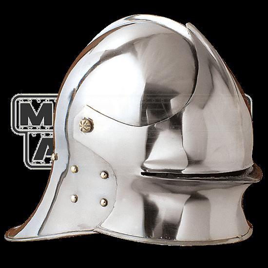 Deep Visored Sallet Helmet