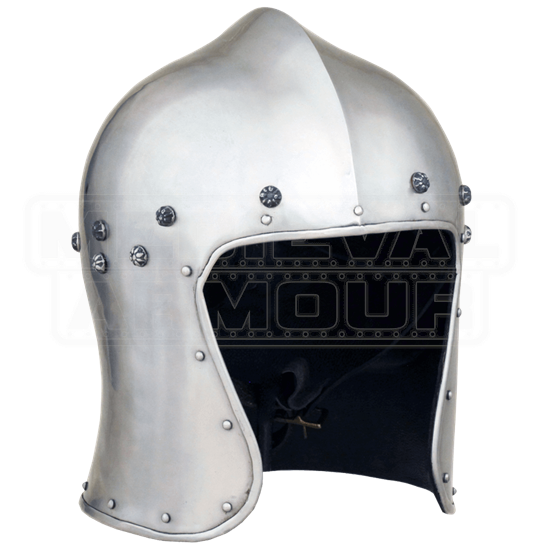 North Italian Barbute Helmet