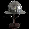 Reinforced Medieval Kettle Helm