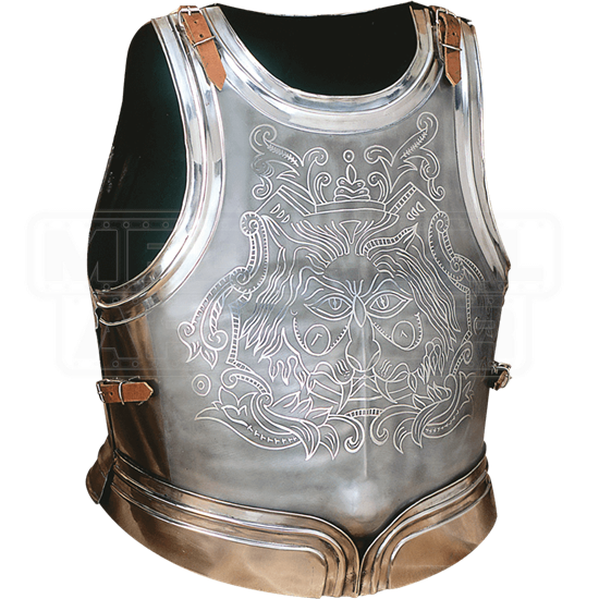 Etched Medieval Cuirass
