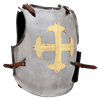 Gilt Cross Knights Cuirass
