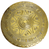 Brass Villanovan Shield