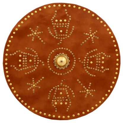 Brass Riveted Scottish Targe