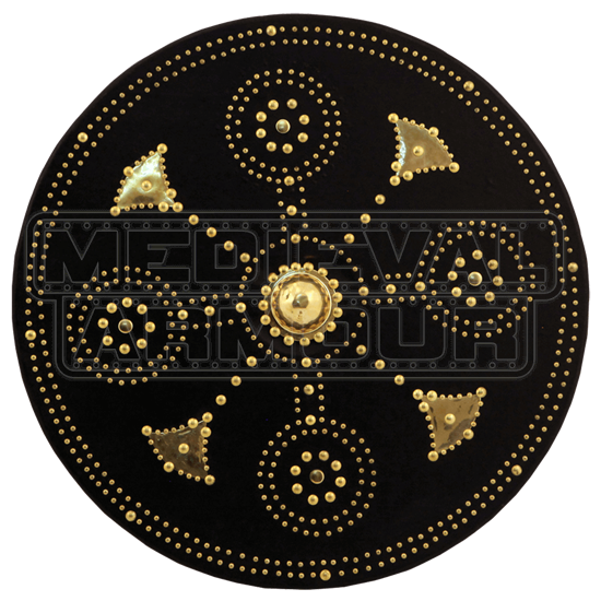 Brass Studded Scottish Targe
