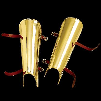 Brass Greaves