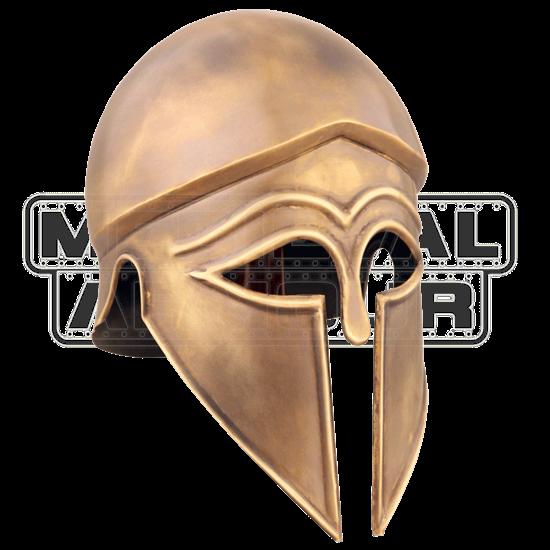 Antiqued Itali Corinthian Helmet